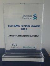 SCB Best SME Partner Award 2011